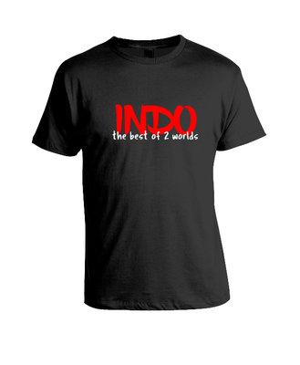 "Tshirt  ""two worlds"""