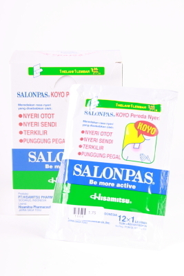 Salonpas warmtepleisters