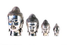 Boeddha hoofdje, nikkel m