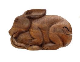 Geheim doosje konijn/haas