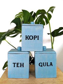 Teh Kopi Gula (blauw)