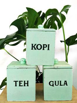 Teh Kopi Gula (groen)