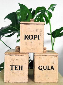 Teh Kopi Gula (bruin)