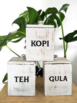 Teh Kopi Gula (wit)