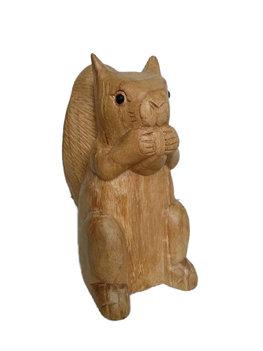 Eekhoorn van hout