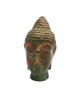 Boeddha hoofdje, brons