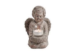 Engel met waxinelicht