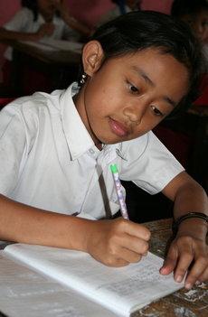 Schoolmaterialen voor een kind
