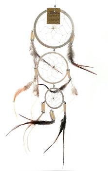 Dromenvanger / Dreamcatcher - BEIGE/WIT