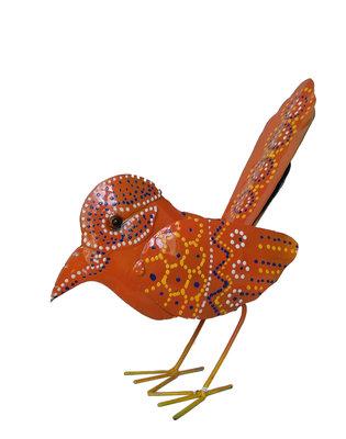 Vogeltje van ijzer (oranje)