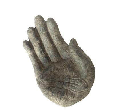 Handje van steen