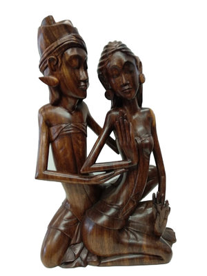 Beeld bruidspaar / man & vrouw
