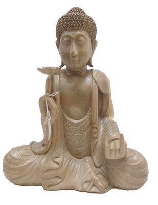 Boeddha met lotus