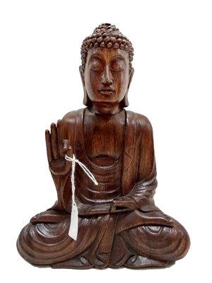 Houtsnijwerk Boeddha