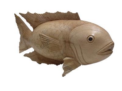 Vis hout (blank) 30cm