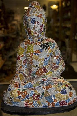 Lamp mozaik Boeddha