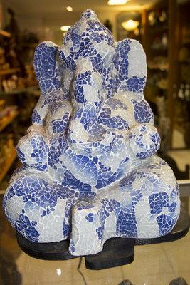 Lamp mozaik Ganesha