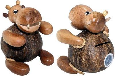Spaarpot kokos HIPPO