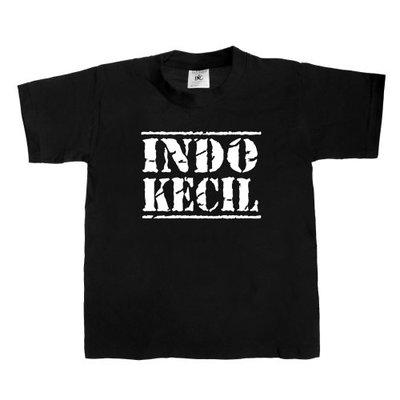Kinder T-shirt INDO-KECIL (zwart/wit)