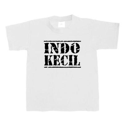 Kinder T-shirt INDO-KECIL (wit/zwart)