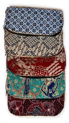 Make up tasje / portemonnee batik
