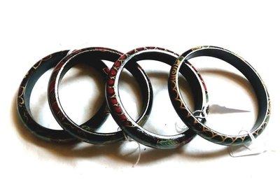 Armband kayu batik 1cm breed