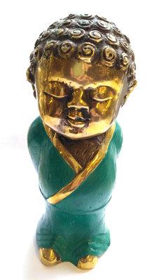 Kind Boeddha Brons