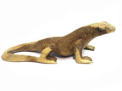 Houtsnijwerk Komodo / Hagedis 30cm