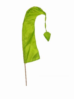 balivlag (umbul umbul) 50cm LIME GROEN