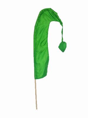 balivlag (umbul umbul) 50cm  GROEN
