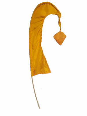 balivlag (umbul umbul) 50cm  GEEL