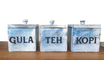 Kopi Teh Gula (Blauw)