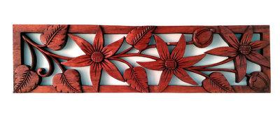 Wandpaneel bloemen