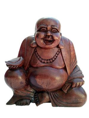 Happy Boeddha / putai / hokei 18cm DONKER