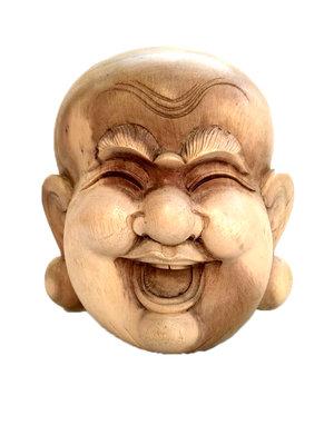 Masker Happy Boeddha / putai / hokei 20cm