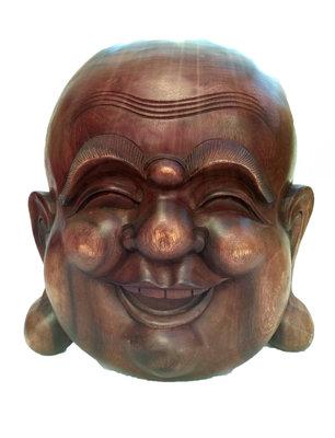 Masker Happy Boeddha / putai / hokei 35cm