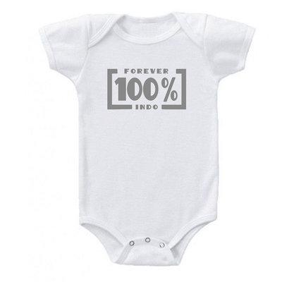 Rompertje 100 procent INDO (grijs)