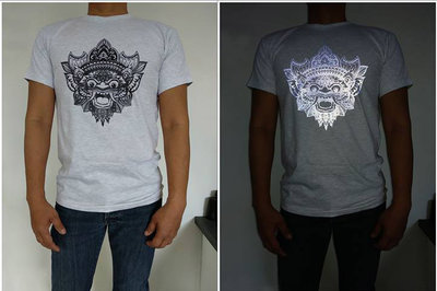 Tshirt BARONG reflect (WIT)