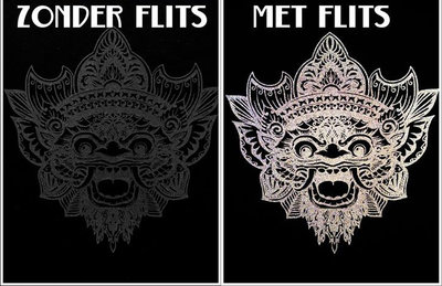 Tshirt BARONG reflect (zwart)