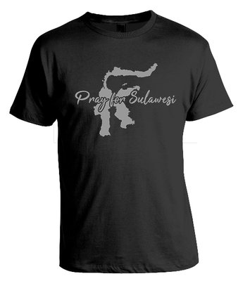 Tshirt Pray for Sulawesi