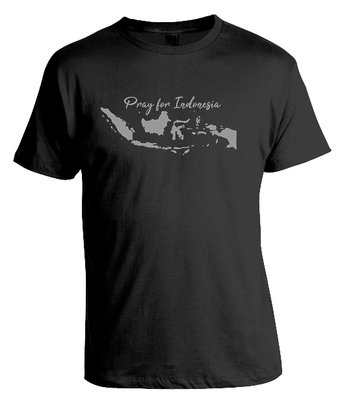Tshirt Pray for Indonesia
