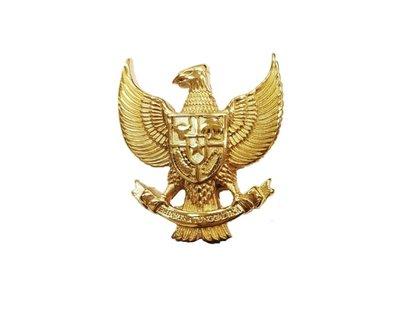 Hanger Garuda Pancasila goudkleurig