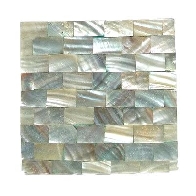 Onderzetters schelp/parelmoer (model14)