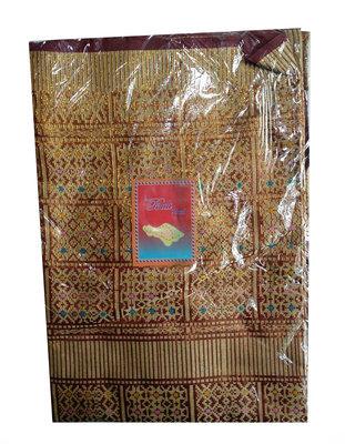 Kain songket / Sarong met gouddraad