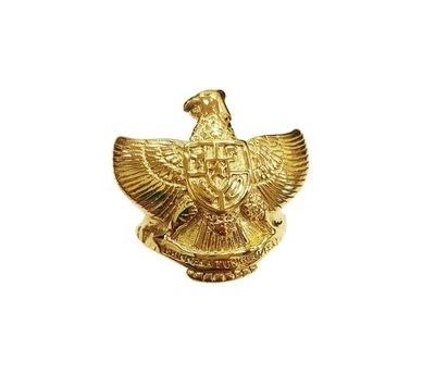 Ring Garuda Pancasila GOUDKLEUR