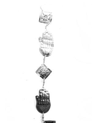 Decoratie-hanger aluminium HAND