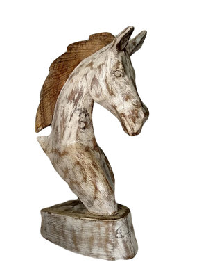 Paardenhoofdje wit