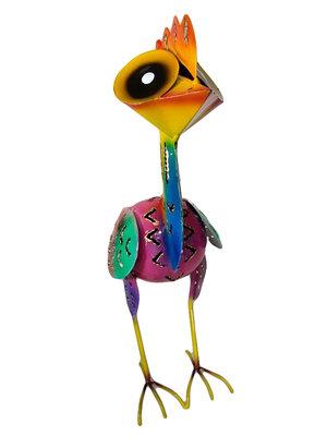Elmo / vogel 24cm staand ROZE