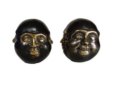 Boeddha 4 gezichten brons