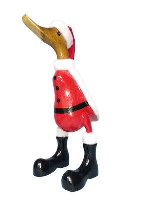 Eendje kerst met laarzen